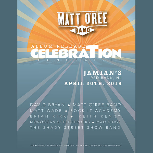 Album Release Celebration and Fundraiser at Jamian's April 20th