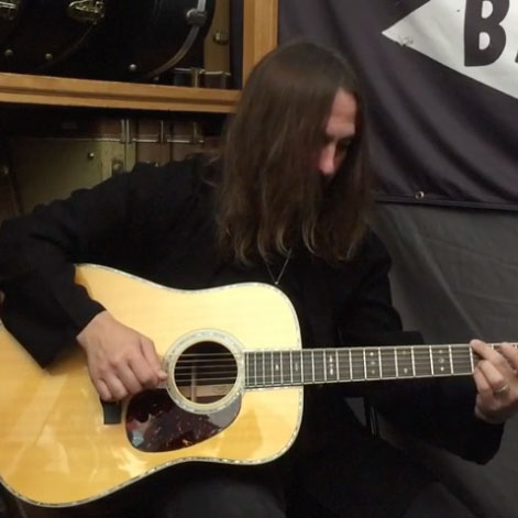 From American Songwriter: Hear The LR Baggs Session Pedal In Action