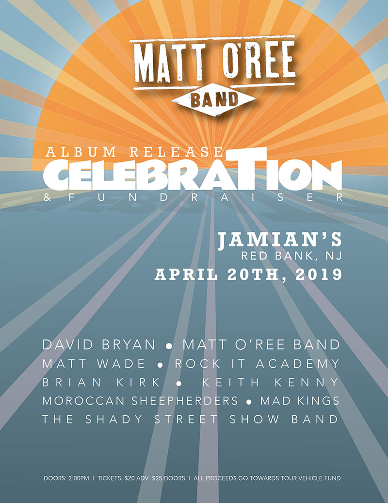 Matt O'Ree Band Fundraiser