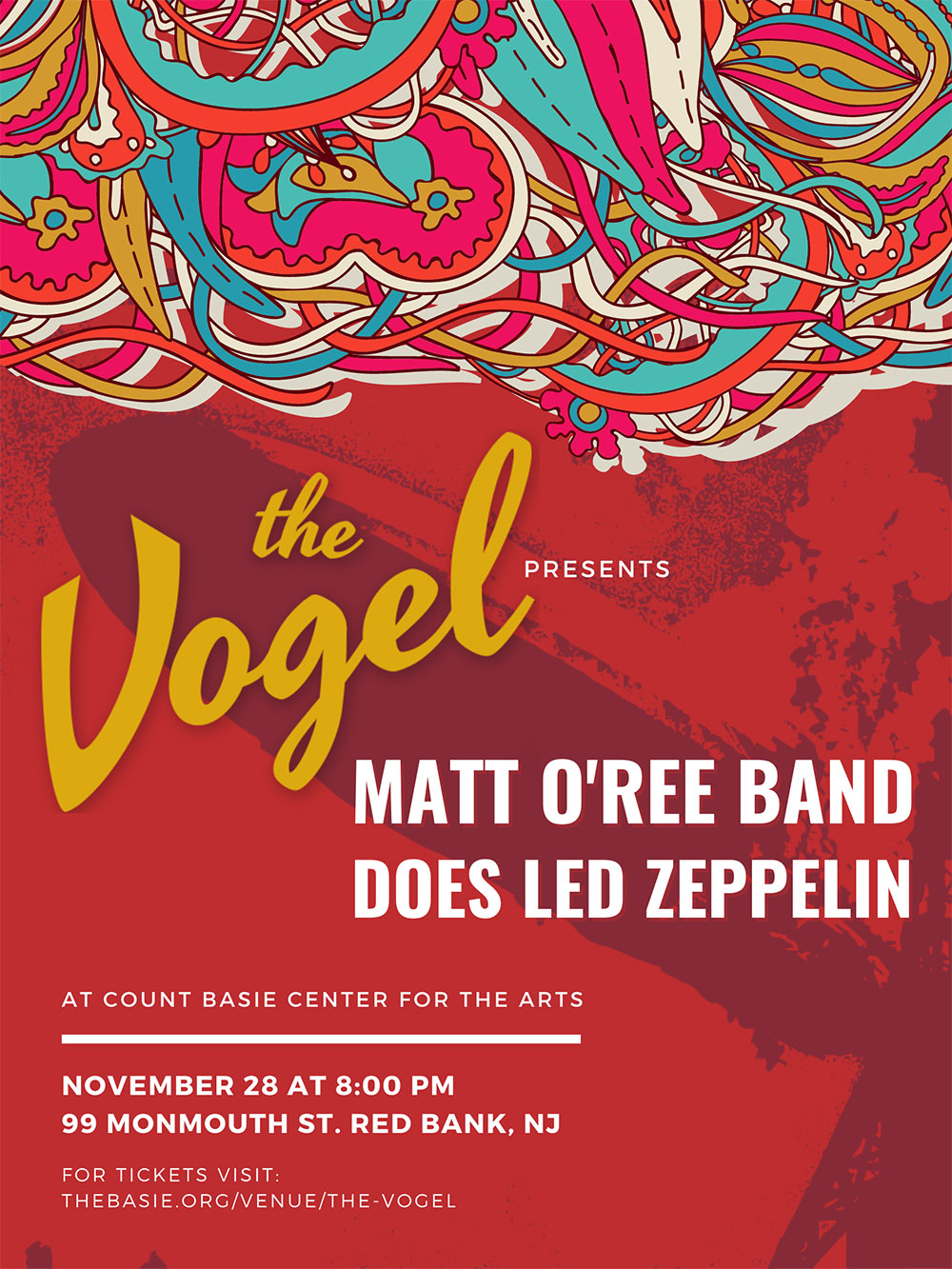 The Vogel presents Matt O'Ree Band Does Led Zeppelin